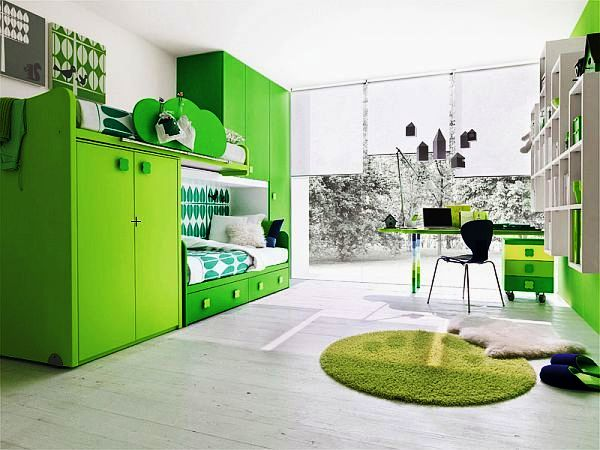 10 Compelling Ideas To Enter Lime Green In The Child's Room