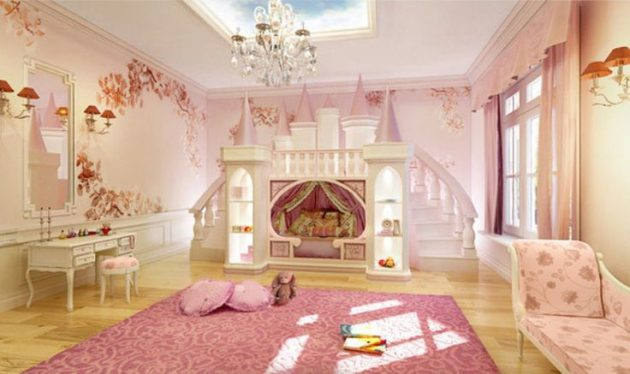 17 Glorious Princess Themed Child's Room Designs That Will Fascinate You