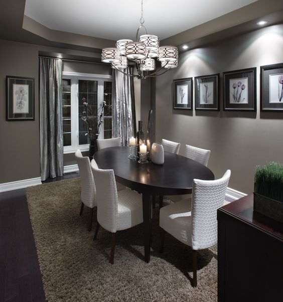 17 Marvelous Dining Room Designs With Beautiful Chandelier