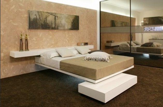 19 cool unique bed designs that you must see for Designes of bed
