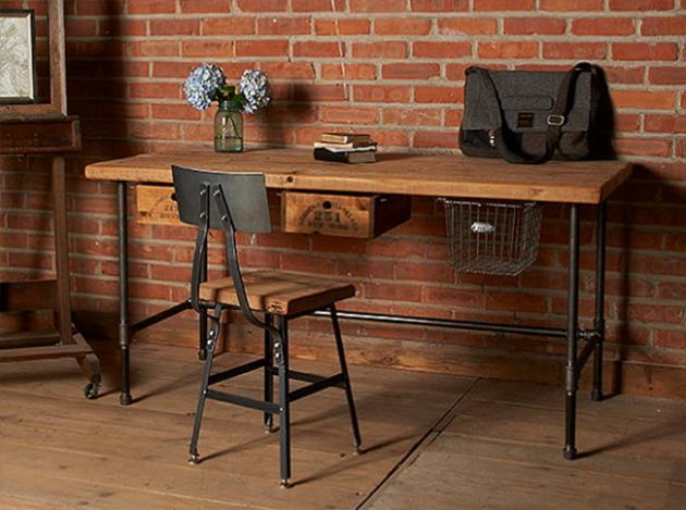 16 Classy Office Desk Designs In, Industrial Office Furniture
