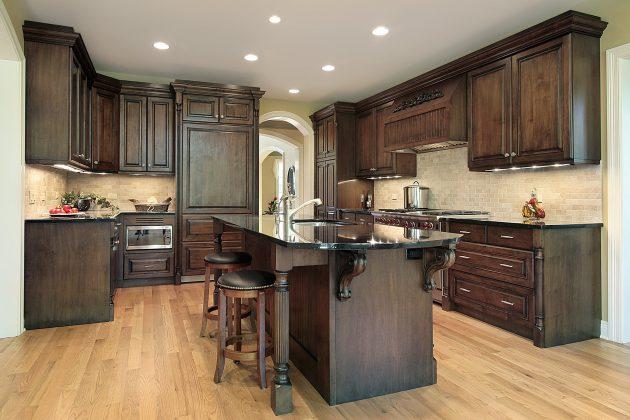 17 Flooring Options For Dark Kitchen Cabinets