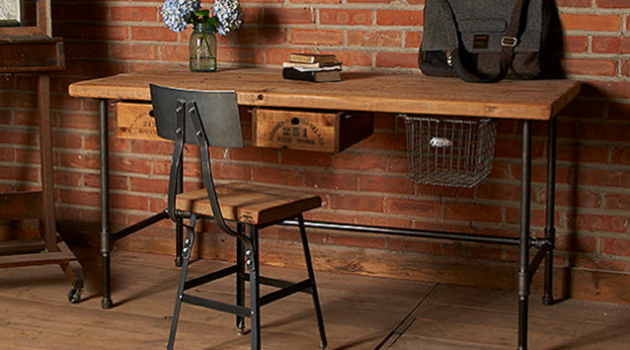 16 Classy Office Desk Designs In Industrial Style