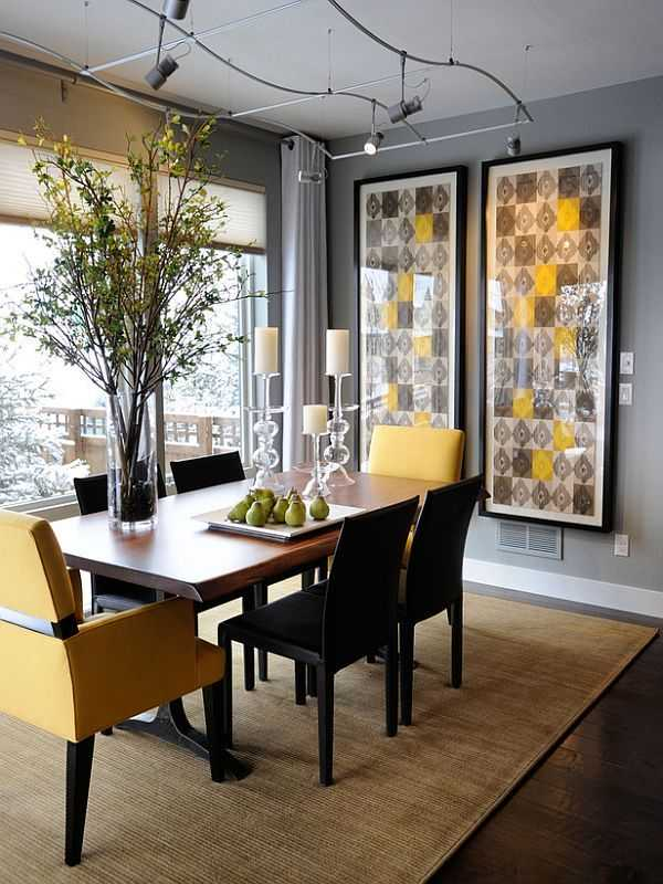 Dining Room Wall Decor inspirational wall decor ideas to enhance the look of your dining room
