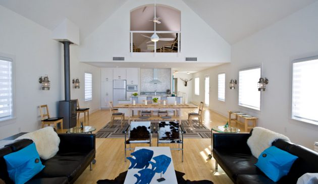 17 Excellent Ideas How To Decorate Open Floor Living Room Properly