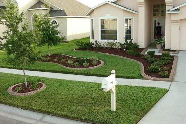 17 divine front yard designs that everyone will envy - Simple front yard landscaping ideas on a budget ...