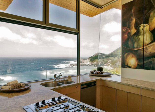 19 truly amazing kitchen designs with breathtaking view for View kitchens ideas