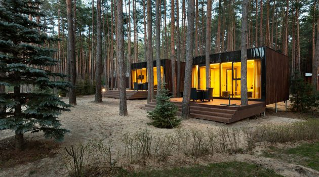 Contemporary Guest Houses Made Of Timber by YOD Design Lab