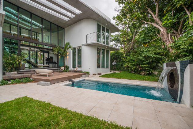 Dilido Haus, Gabriela Liebert, Dilido Island, Miami Beach, Florida