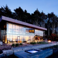 Finley Beach House – A Transparent Beachfront Residence By Bora Architects In Oregon