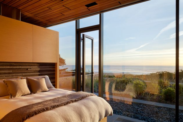 Finley Beach House   A Transparent Beachfront Residence By Bora Architects In Oregon
