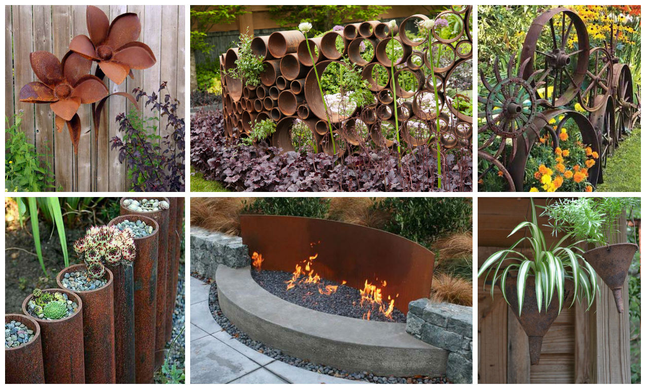 Do It Yourself Home Decorating Ideas: 19 Creative DIY Rusted Metal Projects To Beautify Your Yard
