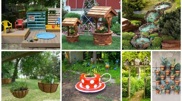 19 Ingenious Garden Decorations That Will Impress You