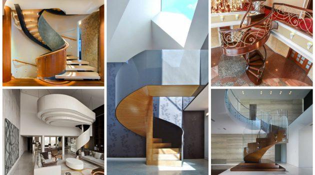 18 Delightful Spiral Staircase Designs To Adorn Your Interior Design