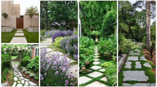18 Creative Garden Path Ideas That You Can Easily Make