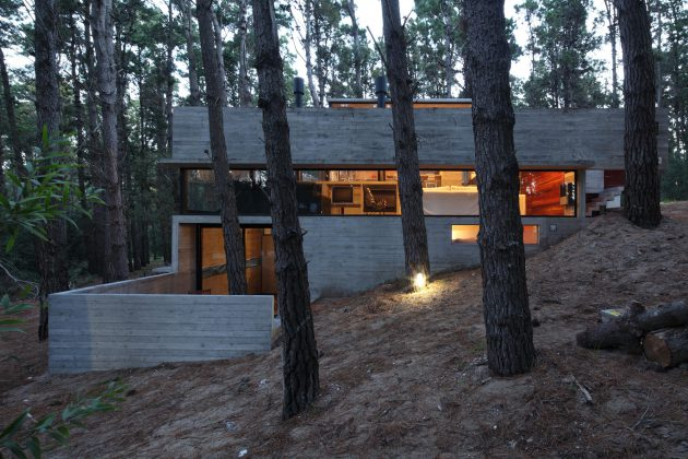 Meet The Levels House by BAK Architects in Argentina