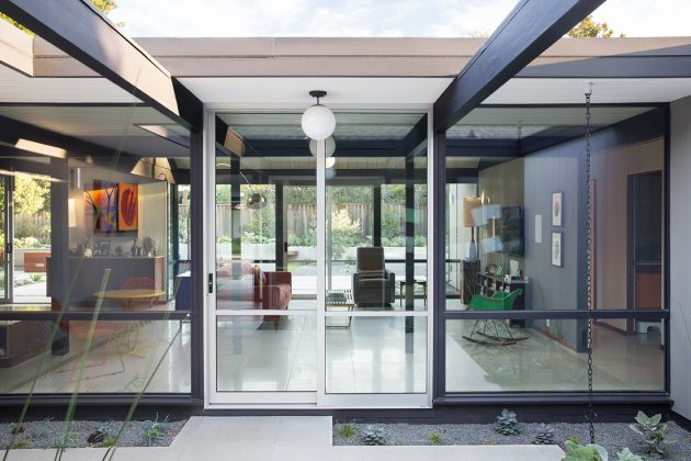 Renewed Classic Eichler by Klopf Architecture