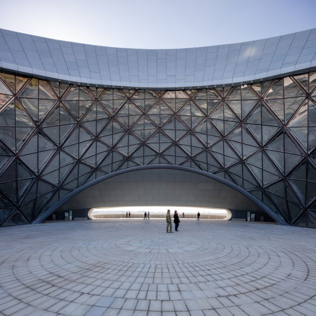 The Breathtaking Harbin Opera House in China by MAD Architects