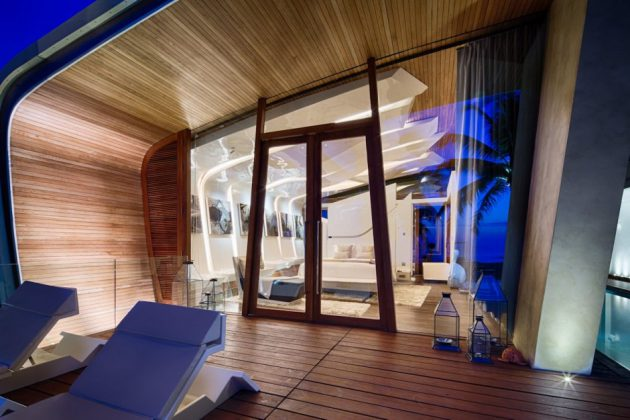 The Interior of Iniala Beach House Designed by A-Cero Architects