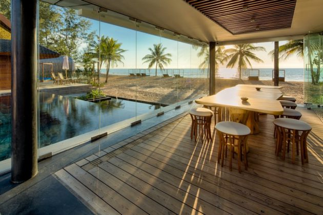 The Interior of Iniala Beach House Designed by A Cero Architects