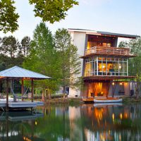 The Pond House by Holly And Smith Architects – A Net Zero Energy Retreat