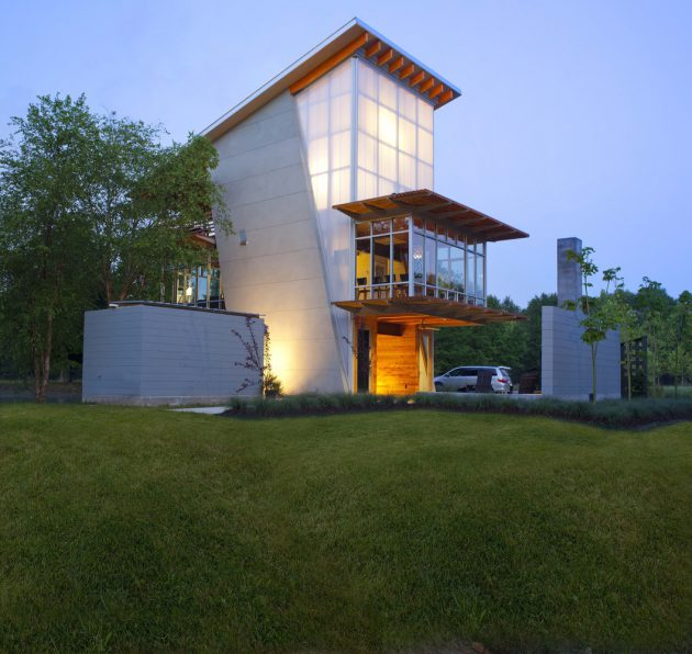 The Pond House by Holly And Smith Architects A Net Zero Energy Retreat