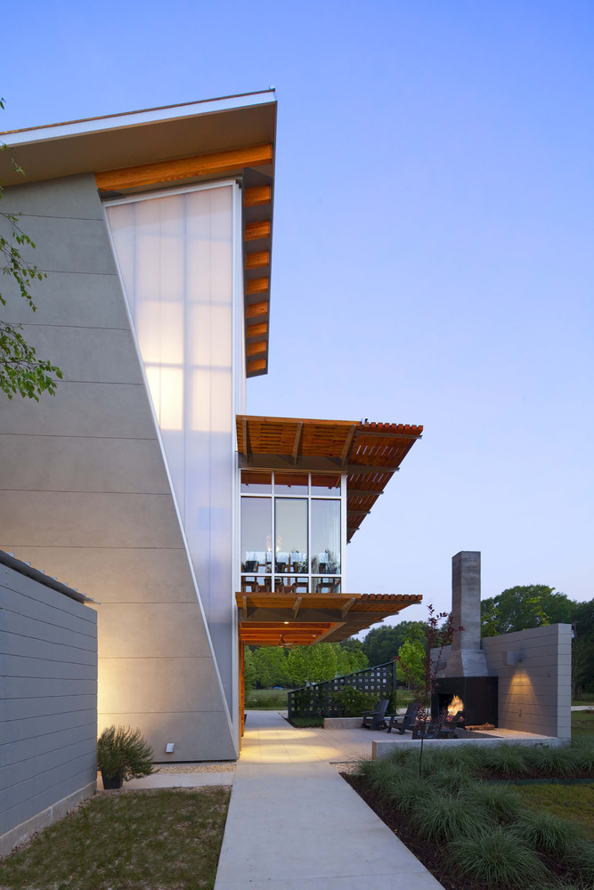 The Pond House by Holly And Smith Architects - A Net Zero ...
