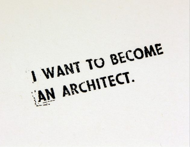 Ordinaire What Does It Take To Become An Architect?