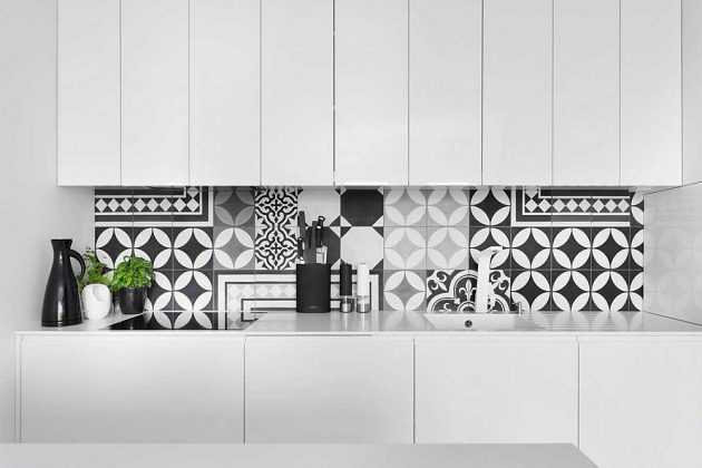 17 Excellent Kitchen Backsplash Designs With Geometric Pattern