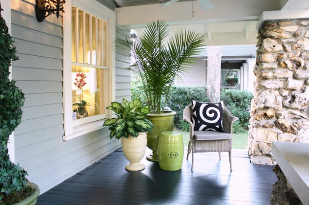 18 Inspirational Ways To Decorate Your Patio With Flower Pots