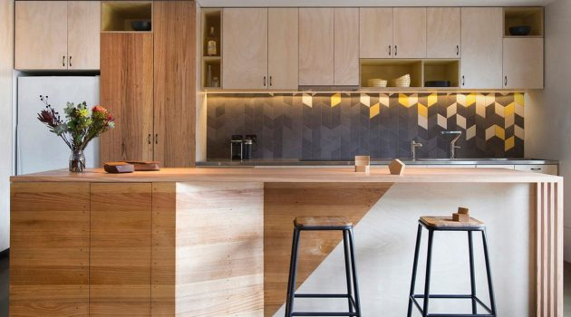 17 Excellent Kitchen Backsplash Designs With Geometric Pattern