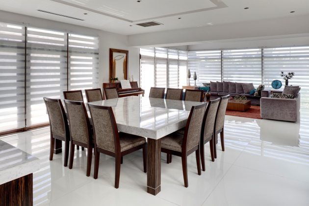17 Precious Ideas To Decorate Your Big Spacious Dining Room