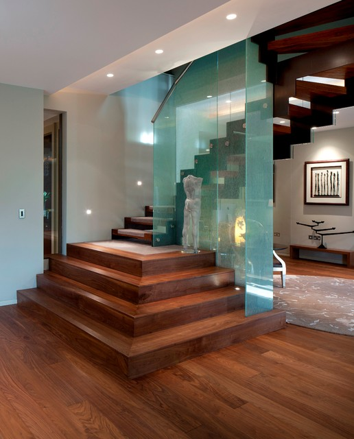17 Classy Contemporary Staircase Designs To Beautify Your