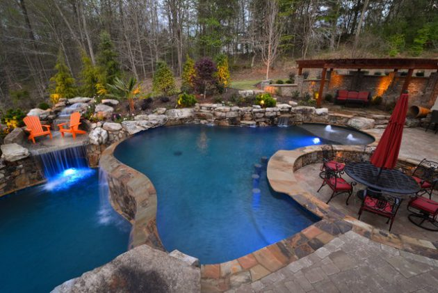 20 Divine Free form Swimming Pool Designs That Will Amaze You