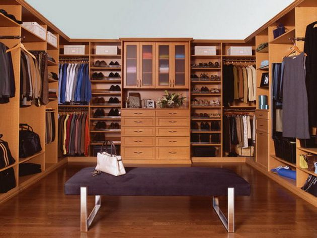 14 Functional Ideas To Decorate Your Master Wardrobe Properly