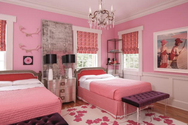19 Marvelous Childs Room Ideas With Pink Walls