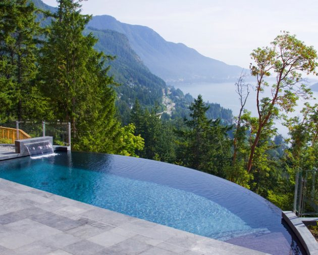 17 Magnificent Small Infinity Swimming Pool Designs To Cool Off In Your Backyard
