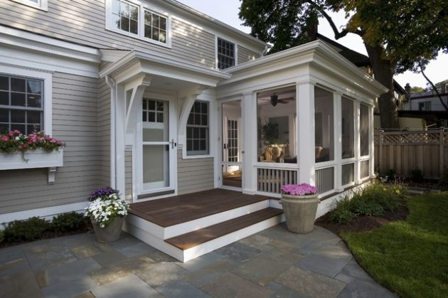 18 Gorgeous Wooden Porches For Fully Summer Enjoyment