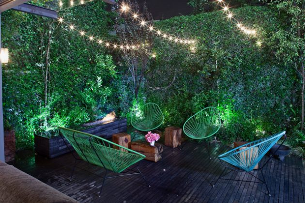 18 Fascinating Ideas Of Backyard Hanging Lights