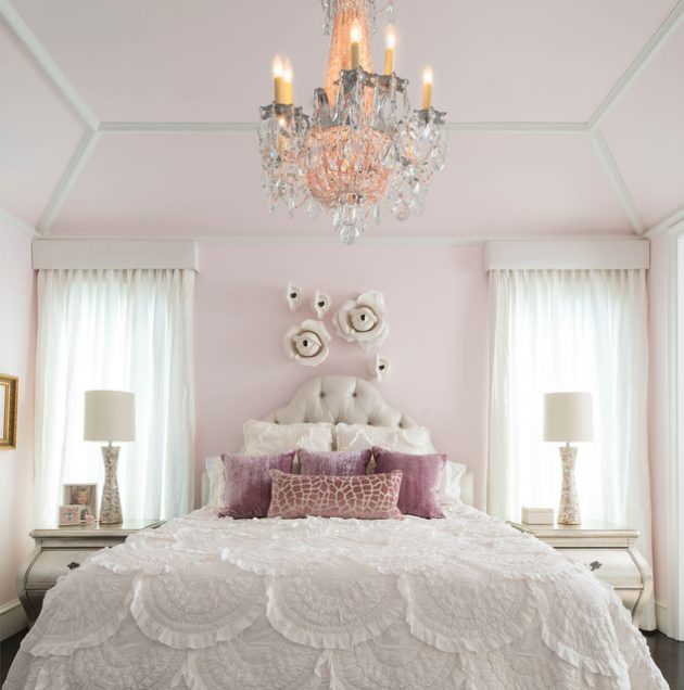 19 marvelous child 39 s room ideas with pink walls for Disney princess bedroom ideas