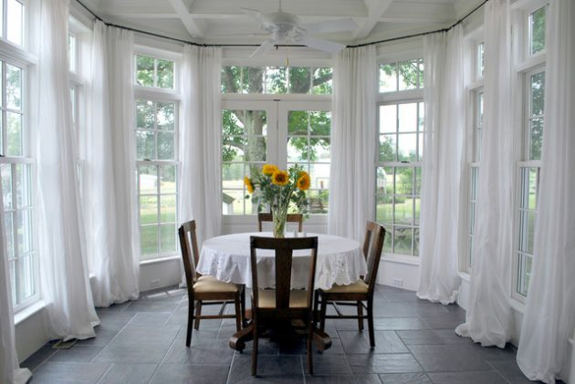 17 Astonishing Dining Sunroom Designs That Everyone Should See