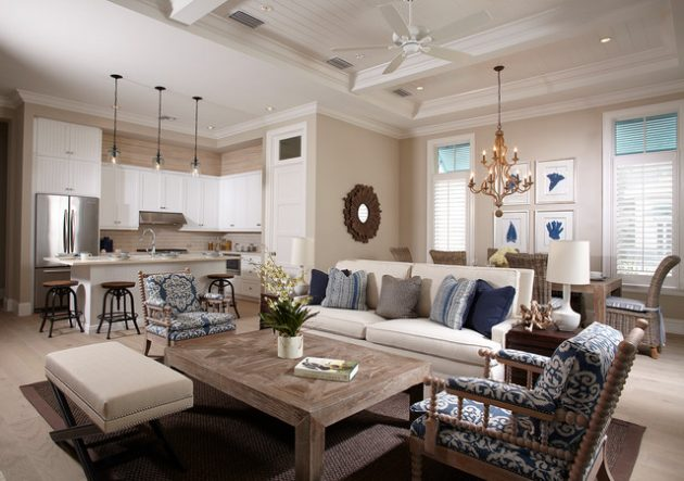 18 Gorgeous Coastal Living Room Designs For Your Inspiration