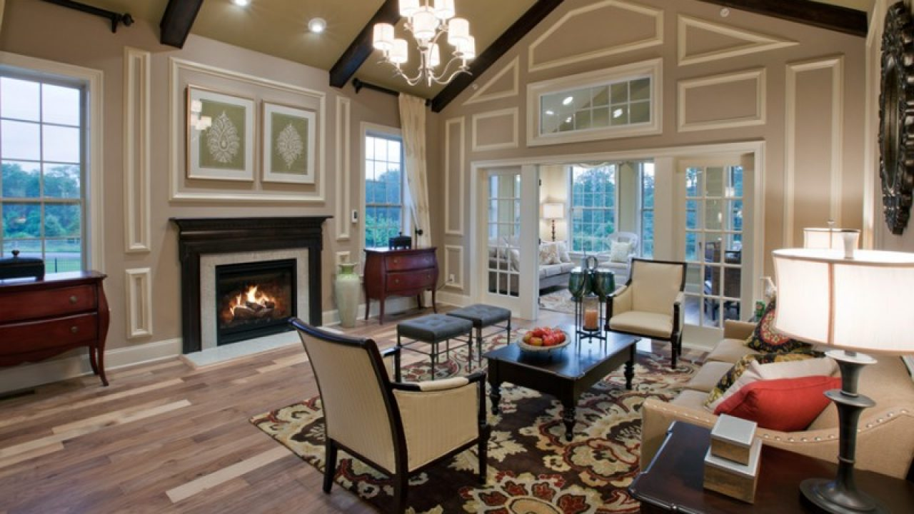 . 17 Charming Living Room Designs With Vaulted Ceiling
