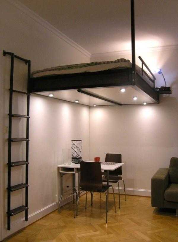 Teen Bedroom Ideas For Small Rooms: 16 Super Functional Loft Bed Designs For Adults That