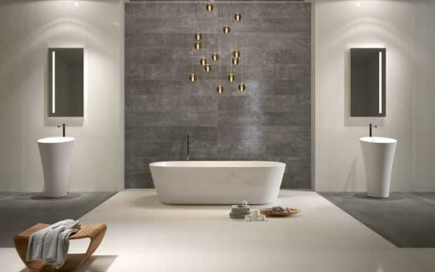 Ideas For Bathroom With Accent Wall