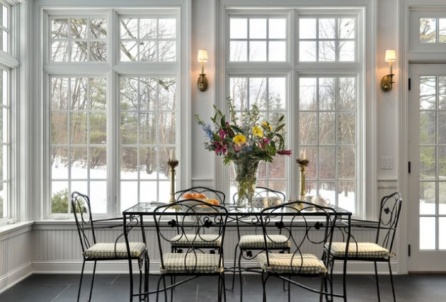 Astonishing Dining Sunroom Designs That Everyone Should See
