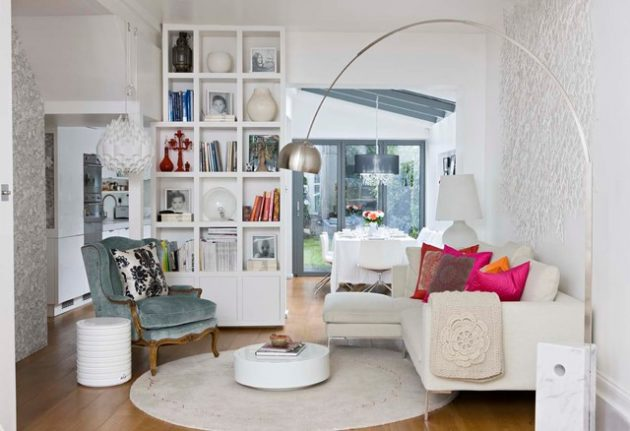 16 Captivating Living Room Design With White Walls