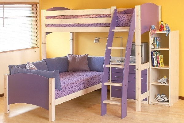 19 Excellent Bunk Bed Designs With Desk That Will Admire You