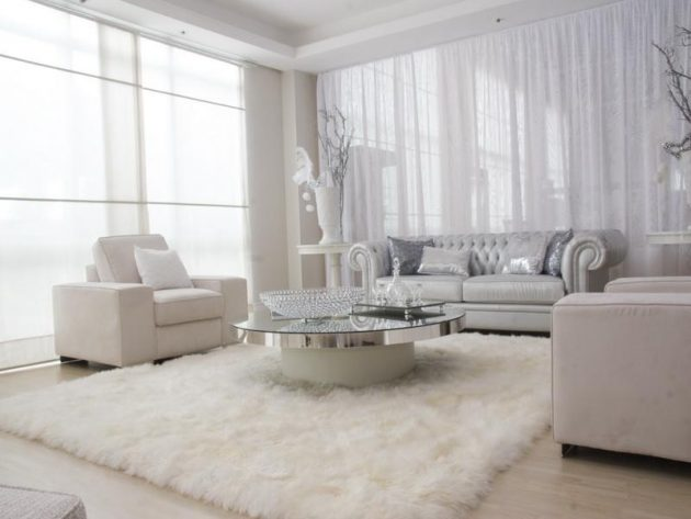 16 Adorable Ideas How To Decorate White Living Room