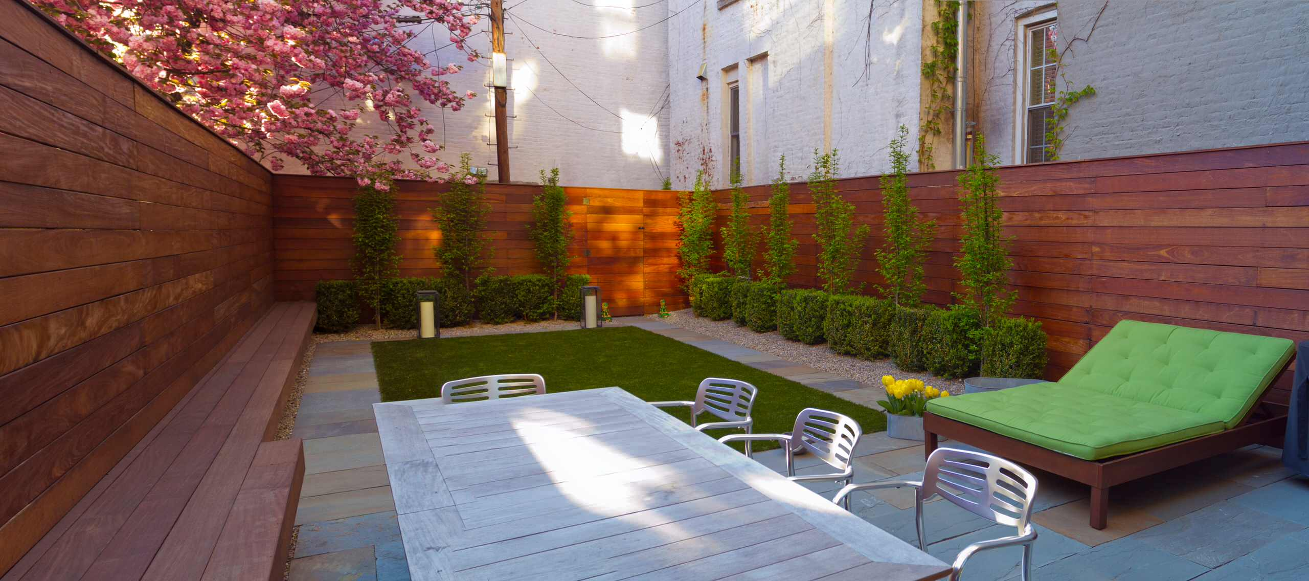 16 Delightful Modern Landscape Ideas That Will Update Your ... on Backyard Designs  id=51231